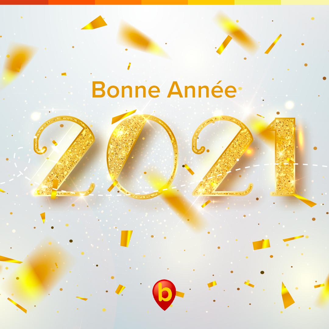 Belle et Heureuse Année 2021 !