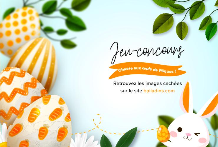 [Jeu-Concours] Chasse aux Œufs de Pâques !